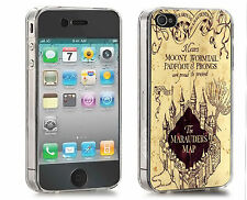 Mauderers Maps Iphone Case (Fits 4/4s,5/5s,5c) Harry Potter