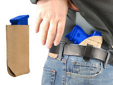 NEW Barsony Tan Leather IWB Holster + Mag Pouch Colt, Kimber Compact 9mm 40 45