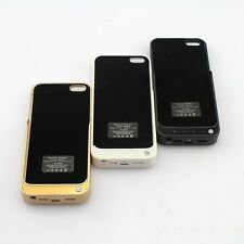 4200mAh Battery Backup Charger Case Rechargeable Power Bank For iPhone 5 5S