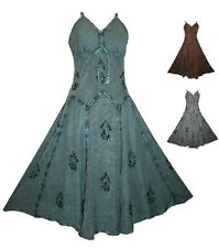D 594 WEDDING EVENING PARTY VINTAGE COSTUME DANCE RENAISSANCE DRESS GOWN