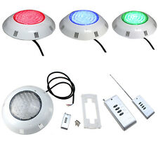 252/558 LED RGB 5 Colors Underwater Swimming Pool Strong Light + Remote Control