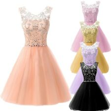 Fashion Cap Sleeves Crystals Party Cocktail Dresses Short Homecoming Prom Gowns
