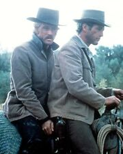 BUTCH CASSIDY AND THE SUNDANCE KID COLOR ON HORSE PHOTO OR POSTER