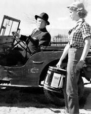 ANNE FRANCIS SPENCER TRACY IN JEEP BAD DAY AT BLACK ROCK PHOTO OR POSTER