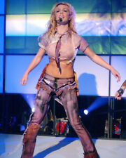 BRITNEY SPEARS FULL LENGTH BARE MIDRIFF PERFORMING CONCERT SHOT PHOTO OR POSTER