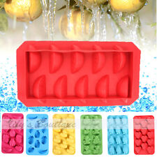 Hot Freeze Ice Duck Penguin Bear Heart Shape Cube Tray Mold Mould Silicone Maker