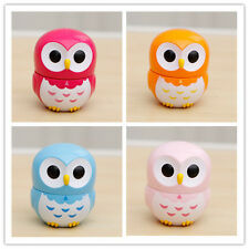 Mini Owl mechanical movement kitchen Bell Alarm Times countdown home decoration