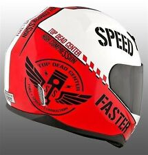 NEW Speed and Strength SS700 Full Face Helmet Top Dead Center Red CBR DUCATI