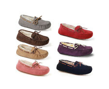 Ozwear UGG Ladies Lace Moccasin In Various Colours