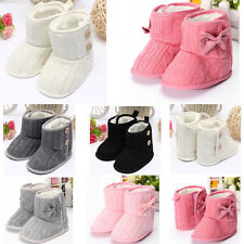 Lovely Toddler Booties Girls Winter Warm Soft Sole Baby Boots Crib Infant Shoes