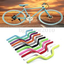 CYCLING MTB MOUNTAIN BIKE ROAD BICYCLE ALLOY FIXED GEAR RISER HANDLEBAR 25.4MM