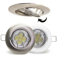 50X 5W 10W LED Recessed gimble TILT Ceiling light Downlight GU10 spot light bulb