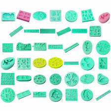 3D Silicone Sugarcraft Fondant Cake Biscuit Cookies Decorating Clay Mold Mould