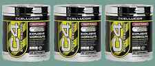 3 x CELLUCOR C4 C 4 30 serv WORLDWIDE USPS WITH TRACKING NR ! MIX ALL FLAVORS !