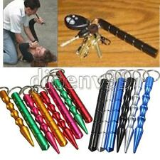 Hot New!!!Aluminum Alloy Pen-shaped Kubaton Stick Keyring Self-defense Supply