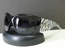 DG Womens Vintage Oversized Animal Print Designer Sunglasses +Microfiber Bag 45