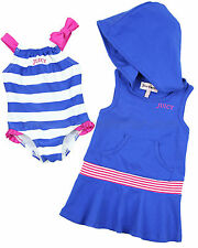 Juicy Couture Baby Swimsuit & Coverup Set, Size 3/6M