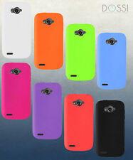 Virgin ZTE Awe N800 Durable Soft Gel Silicone Protective Rubberized Skin Case