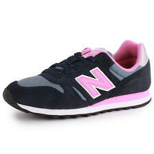 New Balance 373 Womens Suede & Textile Blue Pink Trainers New Shoes All Sizes