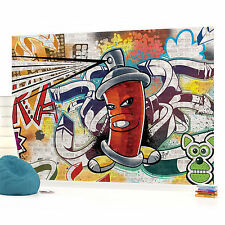 WALL MURAL PHOTO WALLPAPER (1395VEVE) Graffiti Boys Urban Art
