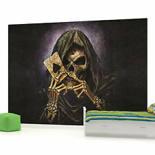 Skull Card Photo Wallpaper Wall Mural (CN-979VE)