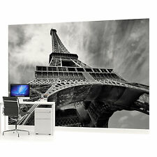 Eiffel tower wallpaper murals paris ebay for Cn mural designs