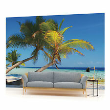 Island Beach Palms Photo Wallpaper Wall Mural (CN-8-005VE)