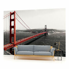 San Francisco Golden Gate Bridge Photo Wallpaper Wall Mural (CN-154P)