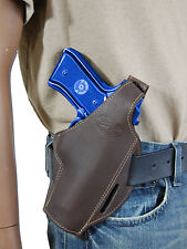 New Barsony Brown Leather Pancake Gun Holster Springfield Full Size 9mm 40 45