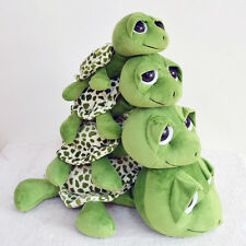 Lovely Baby Toy Turtle with Big Eyes Plush Toy Doll Turtle Cushion Pillow Y5RG