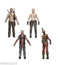 THE WALKING DEAD COMIC SERIES 3 ACTION FIGURES RICK, ANDREA, DWIGHT, PUNK ZOMBIE