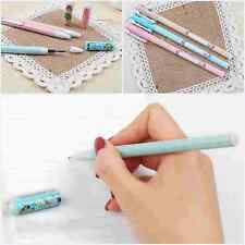 Cute Doll Creative Pens Black Ink Pen Stationery School Supplies Kids Toy Gift