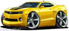 2009-14 Camaro Wall Graphic Decal Transformers Movie Garage Clings Man Cave Art