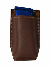 NEW Barsony Brown Leather Single Magazine Pouch Smith&Wesson M&P Comp 9mm 40 45
