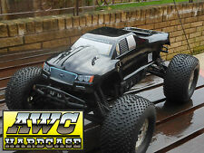 FIBREGLASS PICKUP BODY SHELL FOR HPI SAVAGE FLUX XL. INCLUDES DECALS