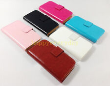 new luxury Wallet Card holder leather case Cover For Sony Nokia smartphone