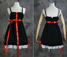 a517 S/M/L/XL/XXL Guilty Crown Inori Yuzuriha Cosplay Kostüm black Kleid dress
