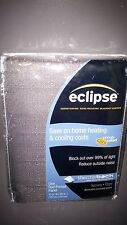 Eclipse Thermaback Shade Curtain Energy Saving Noise Reducing Blackout Curtain