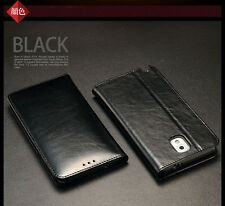 KLD Wallet Real Genuine Leather Case Cover For Samsung Galaxy Note 3 III N9000