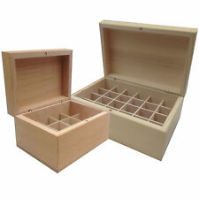 Absolute Aromas Wooden Storage Box for Essential Oils