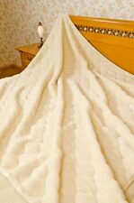 100% Wool blanket- Cashmere 2pattern DOUBLE 200X200CM WOOL4YOU -HIGH QUALITY