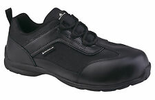 Delta Plus BIG BOSS S1P SRC Work Safety Trainers Shoes Managers Toe Cap Leather