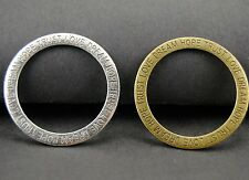 15pcs 36mm Bronze and Silver Hope.Trust.Love.Dream Round Rings Circle Charm A55
