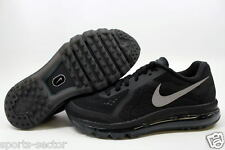 Nike Air Max 2014 Womens Mens Running Trainers Textile Black Same Day Dispatch!