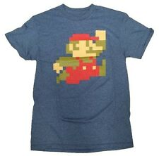 Brand New Men's Nintendo Super Mario Bros Graphic Short Sleeve T-Shirt