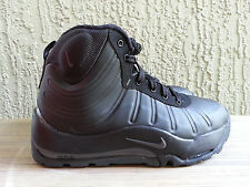 Nike Air Max Bakin GS Youth Boots ACG Black Matte Foamposite 415116-002 Rare New