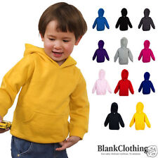 Plain Kids Hoodie | Baby Boys Girls Jumper | Kids Jumper | 11 Colours Size 00-4