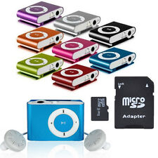 8GB Support Micro SD TF Mini Clip Metal USB MP3 Music Media Player for Gifts HOT