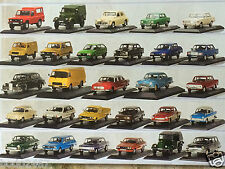 """Masini de legenda"" Collection IXO/IST DeAgostini Models 1:43 (Diecast, Romania)"