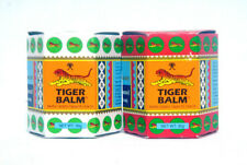 TIGER BALM WHITE & RED HERBAL RUB FOR RELIEF OF MUSCULAR PAIN 10G,19.4G,30G.